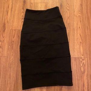 Lululemon pencil skirt size 2 small